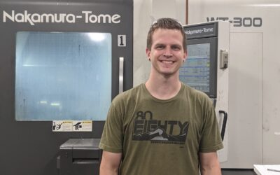Tyler Creeley named Compass Precision Employee of the Month in September (Sept. 1, 2021)